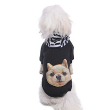 Winter Casual Big Small Dog Pet Dog Clothes Warm Hoodie Coat Jacket Clothing