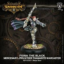 WARMACHINE Mercenaries PIP41110 Fiona The Black Privateer Press NEW