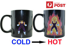 Dragon Ball Z SSJ Vegeta Heat Reactive Colour Changing Ceramic Coffee Mug