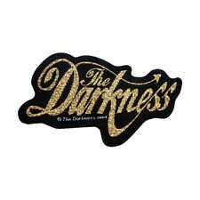 """""""The Darkness"""" English Glam Metal Rock Band Music Woven Sew On Applique Patch"""