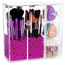 Brush Holder Lipstick Puff Drawer Dustproof Box Premium Quality 5mm In Makeup Or