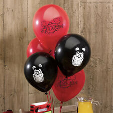Beano Dennis the Menace Red & Black Party Balloons Pack of 8