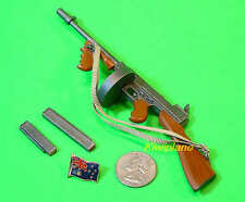 M1928 1:6 Scale Action Figure DRAGON WW2 US ARMY MARINE THOMPSON SUBMACHINE GUN