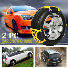 Easy Installation Simple Truck Car Snow Chain Tire Chain Anti-skid Belt New 2PC