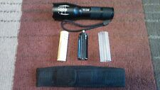 TAC1 TC1200  Tactical Zoom Flashlight Blinding Seizure inducing strobe effect