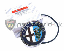 Alfa Romeo Brera & 919 Spider 2008  Boot Badge Logo Emblem, 50517364 GENUINE