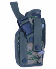 Woodland Digi Camo MOLLE Camouflage Pistol Gun Holster - For 1911 Glock 17 40 45