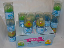 RESTPOSTEN 12x Soapy Kinder Seife Seife Sammel-Tier Frosch Ente Fisch