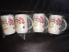 NEW Pizza Hut Care Bear mugs ORIGINAL PACKAGING Never Used FREE SHIP