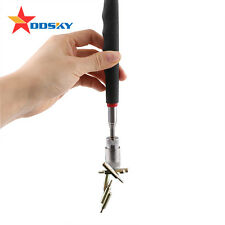 LED+ PICK UP TOOL TELESCOPIC MAGNETIC Strong 3.5kg Extending Magnet Long