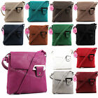 Faux Leather Women's Ladies Designer Style Satchel Tote Bag Shoulder Handbag