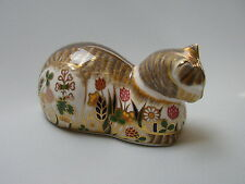 Royal Crown Derby China Cottage Garden Cat
