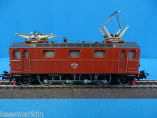 Marklin 3018 SJ Electric Locomotive Br DA Brown RARE version 1   1957