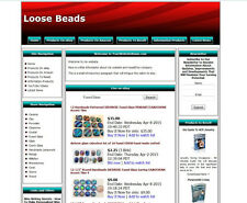 LOOSE BEADS STORE - Work-at-Home Affiliate Website - Amazon+Google+Dropship