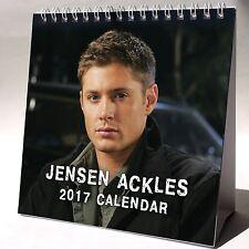 Jensen Ackles Desktop Calendar 2017 NEW Supernatural Dean Winchester
