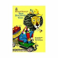 Richard Scarry's Best Storybook Ever! (Giant Little Golden Book), Richard Scarry