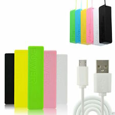 External 2600mAh Portable Power Bank Pack USB Battery Charger For Mobile iPhone