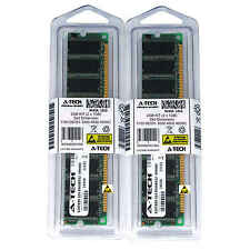 2GB KIT 2 x 1GB Dell Dimension 1100 DE051 3000 4600 4600C PC3200 Ram Memory