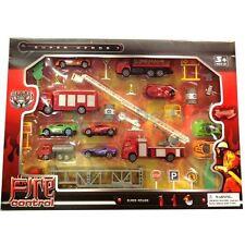 Nuovi PC 35 pressofuso pompieri antincendio SET AUTO CAMION SCALE Ragazzi Bambini Giocattolo
