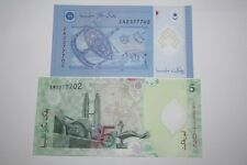 (PL) RM 5 EM + RM 1 ZA 2377702 UNC ZETI LAST & REPLACEMENT SAME FANCY NUMBER