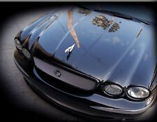 Jaguar X-Type New Style Grille and Lower Mesh PKG 2002-2007