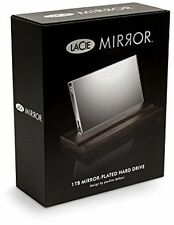 LaCie 9000574 1TB Mirror USB 3 External Hard Drive (SP5-9108-9000574-NIB)