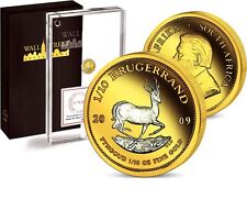 Wall Street Investment Gold Collection 2009 Springbock - Krugerrand 1/10oz Gold