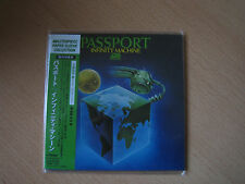 """PASSPORT """"Infinity Machine"""" Japan mini LP CD"""