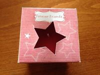 Forever Friends Cosy Cinnamon Scented Candle & Glass Holder - New & Boxed