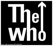 120x125mm THE WHO - DECAL CUT VINYL STICKER (MULTI COLOURS)