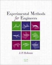 Experimental Methods for Engineers McGraw-Hill Mechanical Engineering