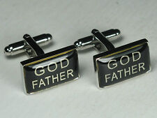 Men's GOD FATHER Wedding Suit Cufflinks
