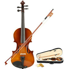 New School Acoustic Violin 1/8 with Case Natural Color Black Friday Promotions