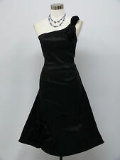Cherlone Black Prom Ball Evening Bridesmaid Wedding Knee Length Dress Size 16-18