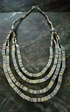 Egyptian style, Hollywood Celebrity Jewelry layers Necklace
