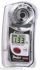 ATAGO Digital Pocket Refractometer PAL-COFFEE (TDS)  New in Box