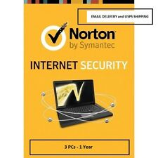 Norton Internet Security 3PC 1 Year - Email Delivery and USPS Delivery