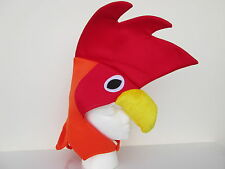 ADULT FUNNY ROOSTER HAT CHICKEN COCK BIRD FARM ANIMAL CUTE COSTUME MASK