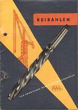 Schmölln, prospectus sur ALESOIRS Nº 1992/1957, veb haute précision-Outil-usine