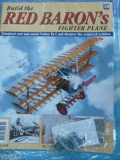 BUILD THE RED BARON'S FIGHTER PLANE FOKKER DR1  HACHETTE  ISSUE 19  NEW SEALED