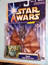 Star Wars Return of the Jedi Assault on Endor Ewok with Attack Glider MOSC