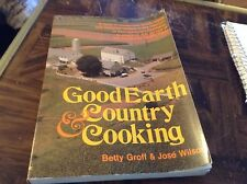 Good earth and country cooking paperback cookbook
