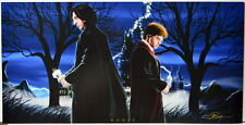 HARRY POTTER / SEVERUS SNAPE PANORAMIC Print HAND SIGNED by Damon Bowie w COA