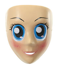 Blue Eyes Anime Mask Costume Accessory NEW Adult