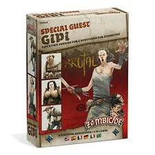 Special Guest : Gipi 4 Survivors, Zombicide Black Plague Multilanguage