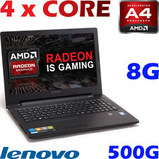 "Lenovo IdeaPad 110 AMD Quad Core A4-7210 8GB 500GB 15.6""  Radeon Game Graph"