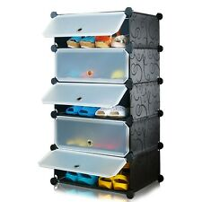 SUPER- PLASTIC SHOE RACK 5 LAYERS-LKL-516-3