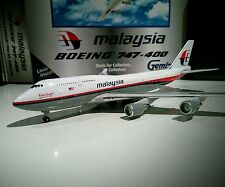 Gemini Jets GJMAS299 Malaysia Airlines 1/400 Boeing 747-400 9M-MHL model