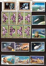 AJMAN STATE Exploration de l'espace: cosmonautes , satellites F139