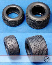 HIRO 1/20 RUBBER FULL WETS GY TYRE SET 80's for TAMIYA JS11 LIGIER FW07